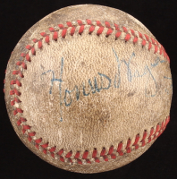 Honus Wagner Signed Baseball Signed by (4) with Al Lopez, Honus Wagner, Maurice Van Robays & Rosey Rowswell (JSA LOA)