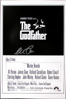 "Al Pacino Signed ""The Godfather"" 12x18 Movie Poster (PSA LOA)"