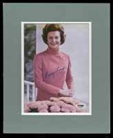 Betty Ford Signed 10x12 Custom Matted Photo Display (PSA COA)