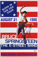 "Bruce Springsteen Signed ""Born in the U.S.A. Tour"" 12x18 Poster (Beckett LOA)"