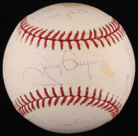 "Tony Gwynn Signed LE ""The Statball"" OML Baseball with Multiple Inscriptions (Reggie Jackson COA) at PristineAuction.com"