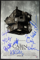 """""""The Cabin in the Woods"""" 12x18 Photo Cast-Signed by (8) with Drew Goddard, Jesse Williams, Amy Acker, Kristen Connolly (PSA LOA)"""