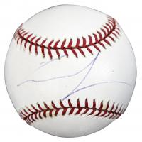 George Lucas Signed OML Baseball (PSA COA)