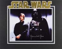 "James Earl Jones Signed ""Star Wars"" 16x20 Custom Matted Photo Display (Beckett COA & JSA Hologram)"
