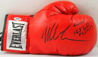 Mike Tyson & Evander Holyfield Signed Everlast Boxing Glove (PSA COA)