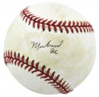 Muhammad Ali Signed OAL Baseball (JSA LOA)
