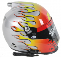 Jeff Gordon Signed NASCAR Full-Size Helmet with Career Highlight Stats (Beckett COA) at PristineAuction.com