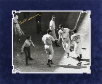 Ted Williams Signed Boston Red Sox 20x24 Custom Matted Photo Display (PSA LOA)
