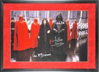 "Ian McDiarmid & David Prowse Signed ""Star Wars"" 20x30 Custom Framed Photo Display Inscribed ""Darth Vader"" (Beckett LOA)"