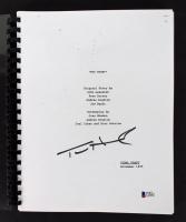 "Tom Hanks Signed ""Toy Story"" Movie Script (Beckett COA)"