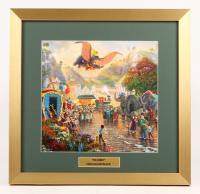 "Thomas Kinkade Walt Disney's ""Dumbo"" 17.5x18 Custom Framed Print Display"