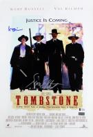 "Val Kilmer & Sam Elliott Signed ""Tombstone"" 12x18 Movie Poster (Beckett COA)"