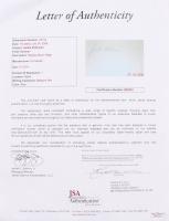 Jackie Robinson Signed 17.5x21.25 Custom Framed Cut Display (JSA LOA) at PristineAuction.com