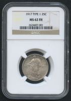1917 25¢ Standing Liberty Quarter - Type 1 (NGC MS 62 FH)