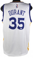 Kevin Durant Signed Golden State Warriors Adidas Jersey (Fanatics Hologram)