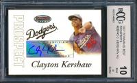 2007 Bowman's Best Prospects #BBP45 Clayton Kershaw Autographs (BCCG 10)