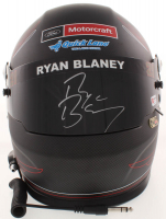 "Ryan Blaney Signed NASCAR Pocono ""First Cup Win"" Limited Edition Full-Size Helmet (PA COA)"