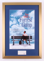 "Tom Hanks Signed ""Forrest Gump"" 17x24 Custom Framed Cut Display (PSA COA)"