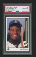 1989 Upper Deck #1 Ken Griffey Jr. RC (PSA Authentic)