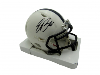 Saquon Barkley Signed Penn State Nittany Lions Speed Mini Helmet (JSA COA) at PristineAuction.com