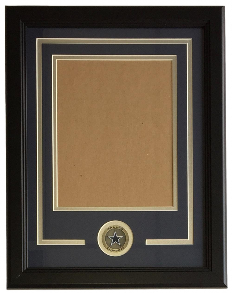 Cowboys 11x14 Vertical Photo Frame Kit at PristineAuction.com