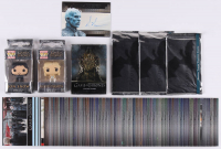 Lot of Assorted Game of Thrones Collector's Items with 2017 Game of Thrones Valyrian Steel Valyrian Autographs #NNO Richard Brake as Night King