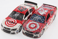 Lot of (2) Kyle Larson LE 1:24 Scale Die Cast Cars with (1) Signed #42 Target Michigan Fall Win 2017 SS & (1) Signed #42 Target - Darlington 2016 SS Liquid Color (RCCA COA)
