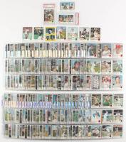 1973 Topps Complete Set of (676) Baseball Cards with #255 Reggie Jackson (PSA 7), #130 Pete Rose, #50 Roberto Clemente, #100 Hank Aaron