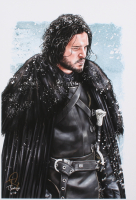"Tony Santiago - Jon Snow - ""Game of Thrones"" 13x19 Signed Lithograph (PA COA) at PristineAuction.com"
