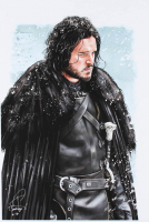 """Tony Santiago - Jon Snow - """"Game of Thrones"""" 13x19 Signed Lithograph (PA COA) at PristineAuction.com"""