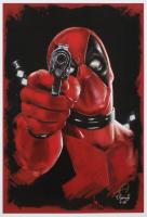 Tony Santiago - Deadpool - Marvel Comics 13x19 Signed Lithograph (PA COA) at PristineAuction.com