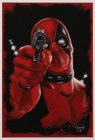 Tony Santiago - Deadpool - Marvel Comics 13x19 Signed Lithograph (PA COA) at PristineAuction.com