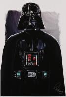 "Tony Santiago - Darth Vader - ""Star Wars"" 13x19 Signed Lithograph (PA COA) at PristineAuction.com"