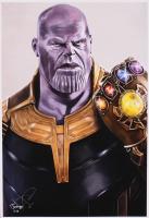 Tony Santiago - Thanos - The Avengers - Marvel Comics 13x19 Signed Lithograph (PA COA) at PristineAuction.com