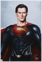 Tony Santiago - Superman - DC Comics 13x19 Signed Lithograph (PA COA) at PristineAuction.com