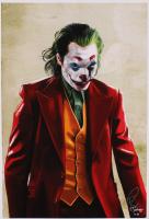Tony Santiago - The Joker - Joaquin Phoenix - DC Comics 13x19 Signed Lithograph (PA COA) at PristineAuction.com