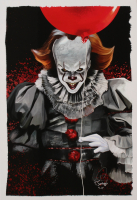 "Tony Santiago - Pennywise - ""IT"" 13x19 Signed Lithograph (PA COA) at PristineAuction.com"