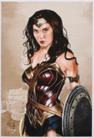 Tony Santiago - Wonder Woman - DC Comics 13x19 Signed Lithograph (PA COA) at PristineAuction.com