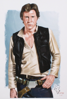 "Tony Santiago - Han Solo - Harrison Ford - ""Star Wars"" - 13x19 Signed Lithograph (PA COA) at PristineAuction.com"