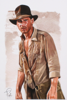 Tony Santiago - Indiana Jones - Harrison Ford - 13x19 Signed Lithograph (PA COA) at PristineAuction.com