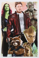 Tony Santiago - Guardians of the Galaxy - Marvel Comics 13x19 Signed Lithograph (PA COA) at PristineAuction.com