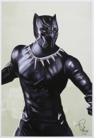 Tony Santiago - Black Panther - Marvel Comics 13x19 Signed Lithograph (PA COA) at PristineAuction.com