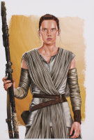 "Tony Santiago - Rey - ""Star Wars"" 13x19 Signed Lithograph (PA COA) at PristineAuction.com"