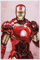 Tony Santiago - Iron Man - Marvel Comics 13x19 Signed Lithograph (PA COA) at PristineAuction.com