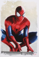 Tony Santiago - Spider-Man - Marvel Comics 13x19 Signed Lithograph (PA COA) at PristineAuction.com