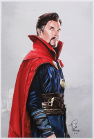 Tony Santiago - Doctor Strange - Marvel Comics 13x19 Signed Lithograph (PA COA) at PristineAuction.com