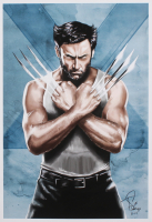 Tony Santiago - Wolverine - X-Men - Marvel Comics 13x19 Signed Lithograph (PA COA) at PristineAuction.com