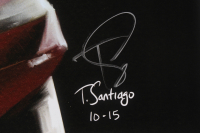"""Tony Santiago - Freddy Krueger - """"A Nightmare on Elm Street"""" 13x19 Signed Lithograph (PA COA) at PristineAuction.com"""