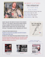 Robert J. O'Neill Signed LE SEAL Team Six 13x16 Print (PSA COA)