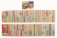 1956 Topps Complete Set of (340) Baseball Cards with #135 Mickey Mantle